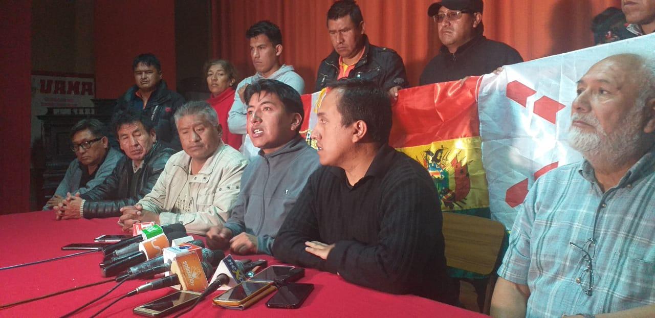 Cívicos aseguran que el cabildo nacional fue una muestra de que la población está determinada a exigir la renuncia de Morales