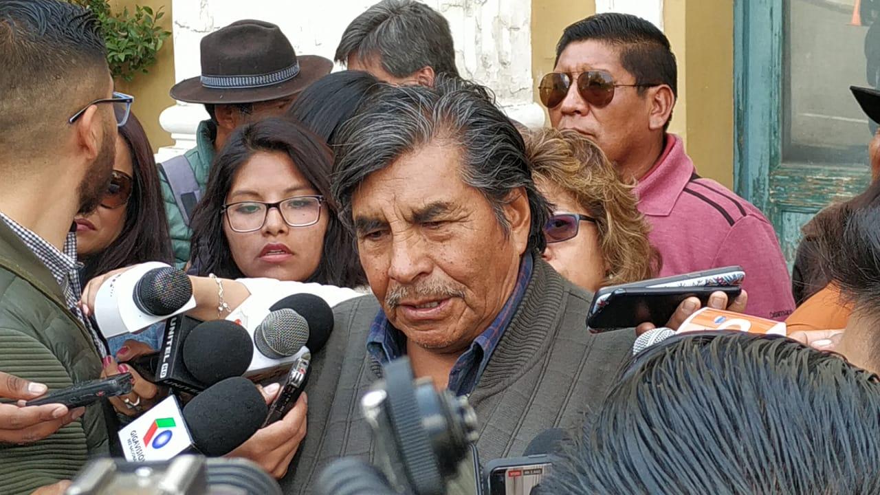 """""""El Mallku"""" pide procesar a Camacho, Pumari y Murillo por las muertes en Sacaba y Senkata"""