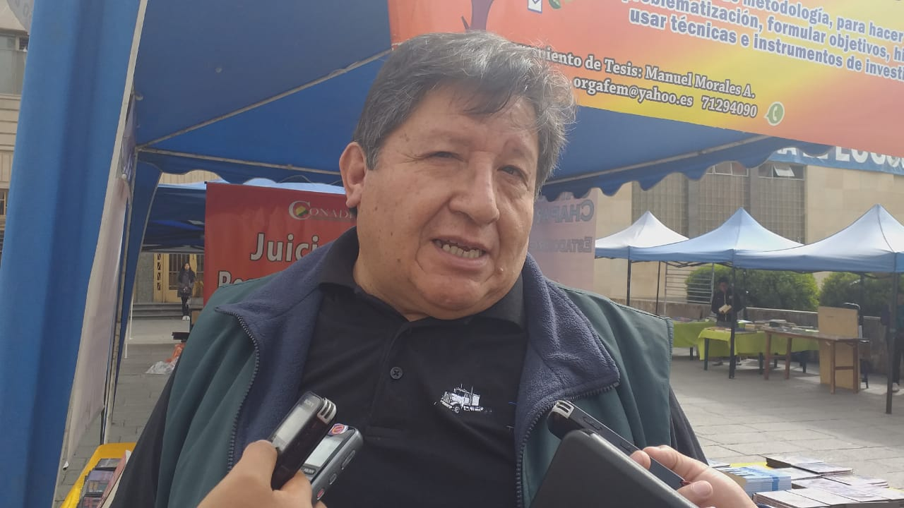 CONADE considera que los posibles candidatos del MAS tienen cuentas pendientes con la población