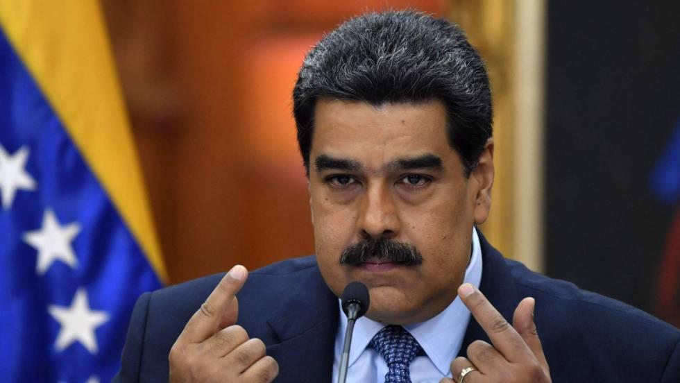 Maduro anuncia orden de arresto contra grupo encabezado por Guaidó