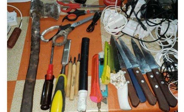 Policía halla drogas, somníferos y cuchillos durante una requisa sorpresa en el penal de San Pedro