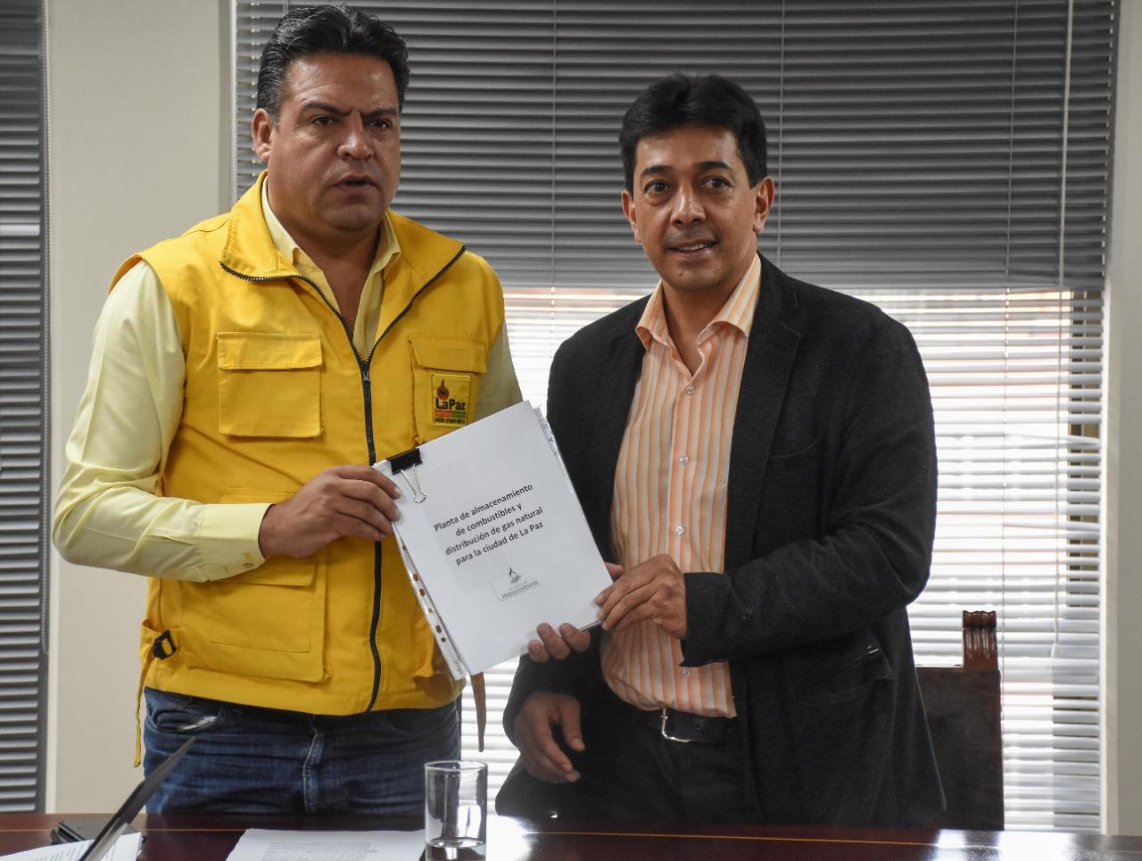Gobierno entrega proyecto a la Alcaldía para la construcción de una nueva planta de gas en la zona Sur