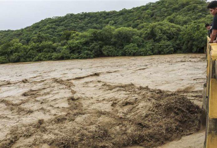 SENAMHI emite una alerta naranja por la crecida de ríos en cuatro departamentos