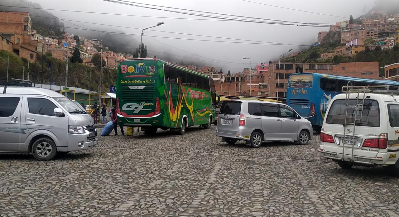 Alcaldía descarta riesgo de deslizamiento en la terminal Minasa