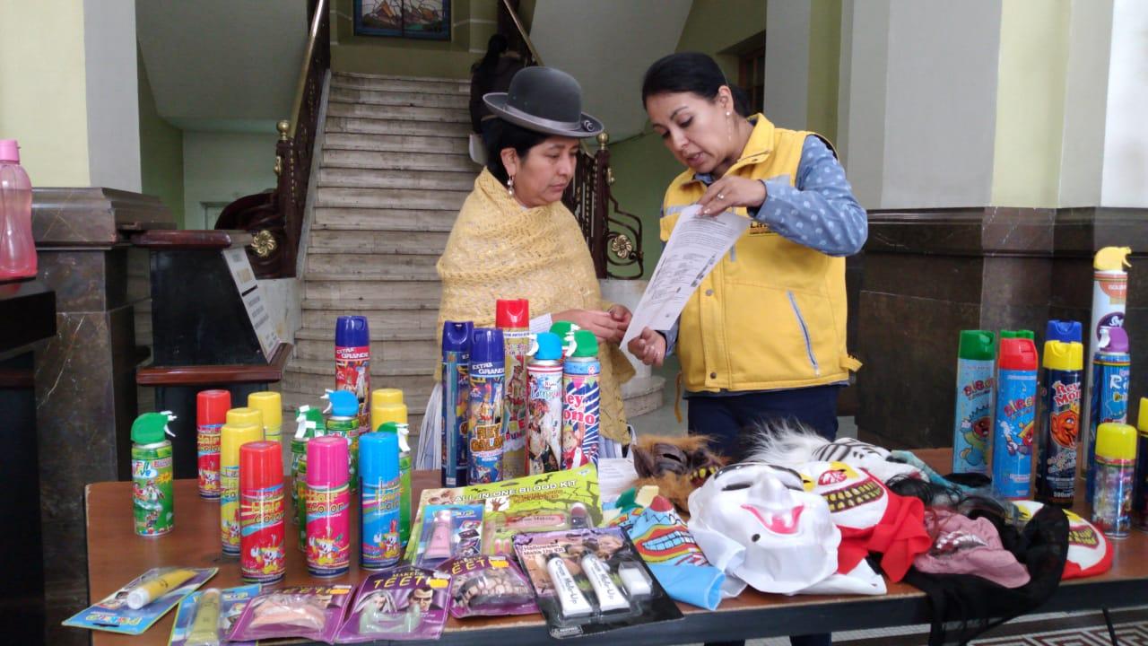Este fin de semana iniciarán los controles para la venta de productos para carnavales