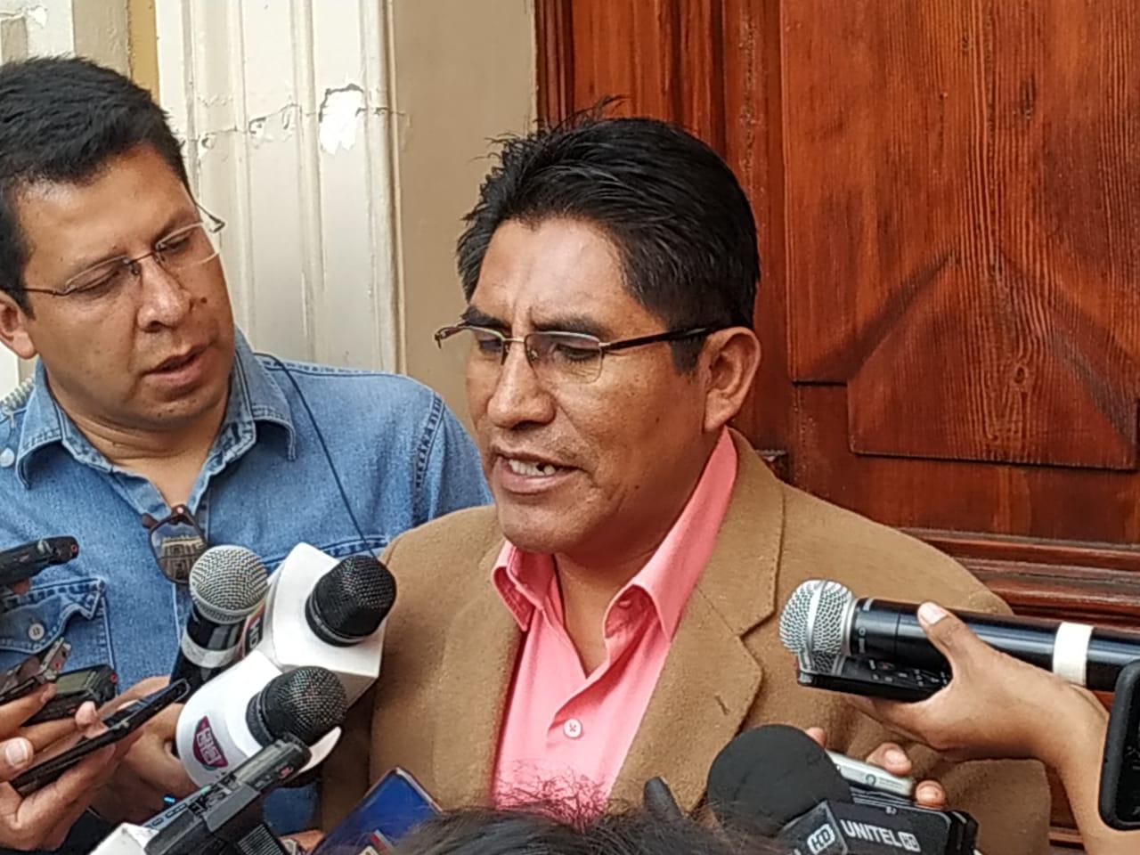 """Patzi considera que Samuel """"arruinó"""" la candidatura de Añez"""