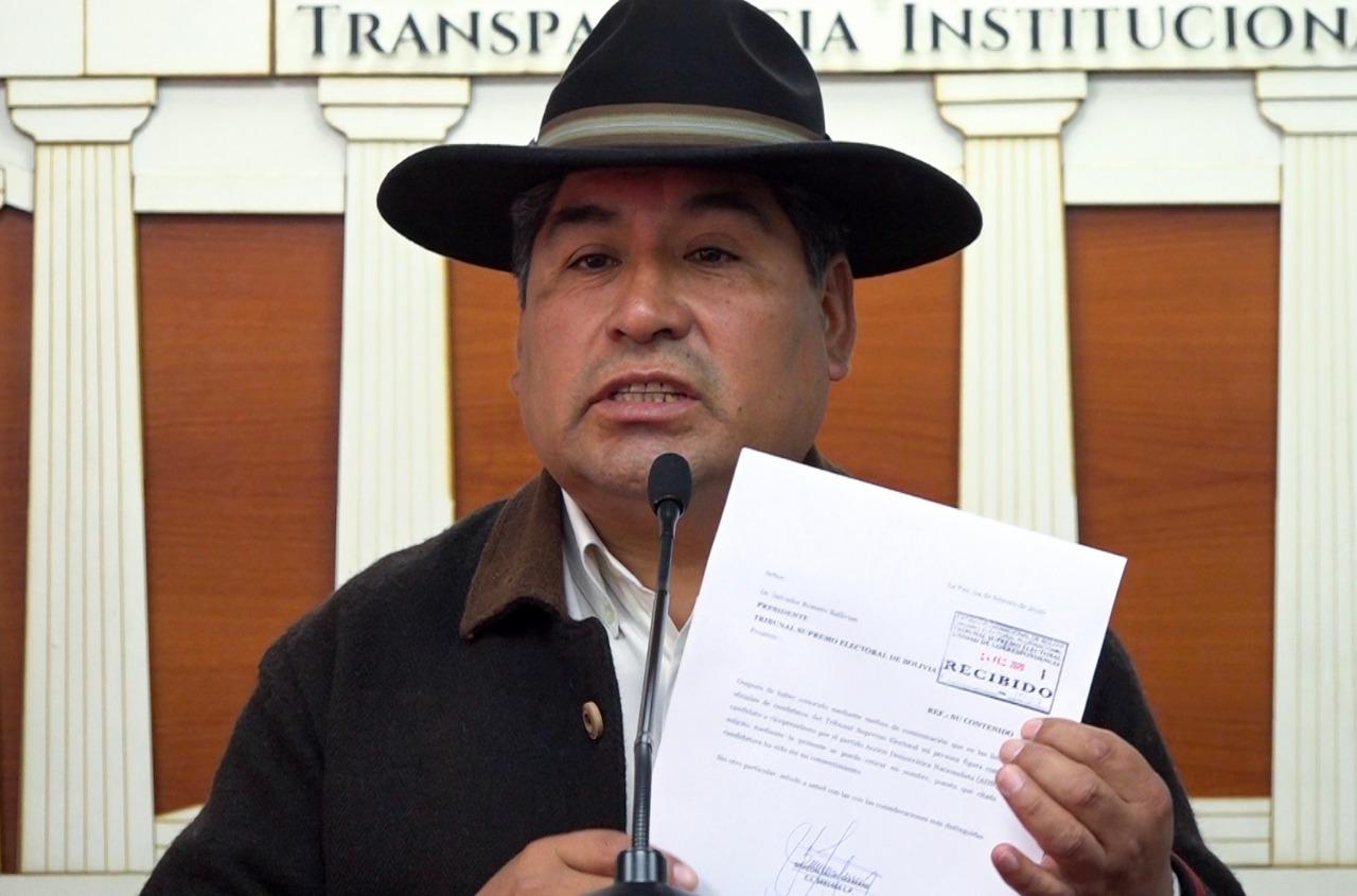 Viceministro de Justicia anuncia demandas legales por su inscripción como candidato por ADN