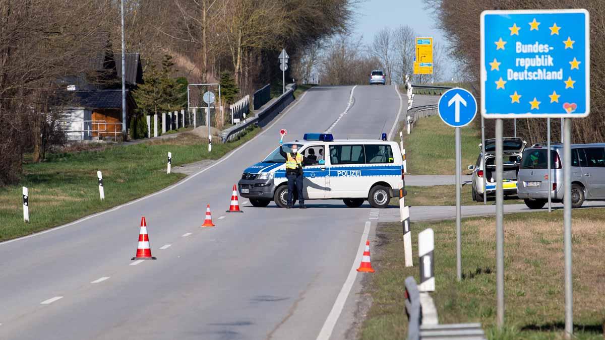 Alemania y Austria prevén reabrir sus fronteras desde el próximo 15 de junio