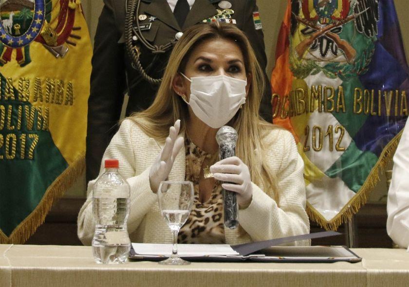 Añez anuncia la instalación de un hospital de emergencia en Beni para atender pacientes con COVID-19