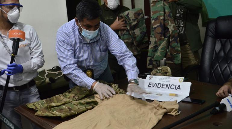 FELCC detiene a falso militar por trasladar municiones a Kara Kara