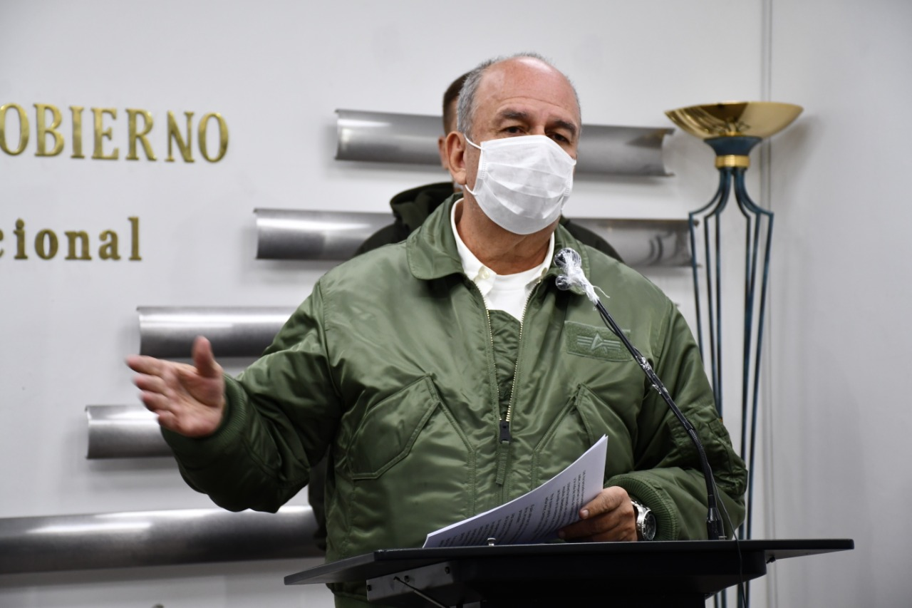 Ministro Murillo envía carta a Morales para solicitarle que evite incitar a la violencia política