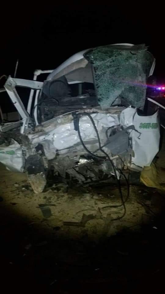 Accidente en la carretera Patacamaya – Tambo Quemado deja 3 médicos y 1 chófer fallecidos