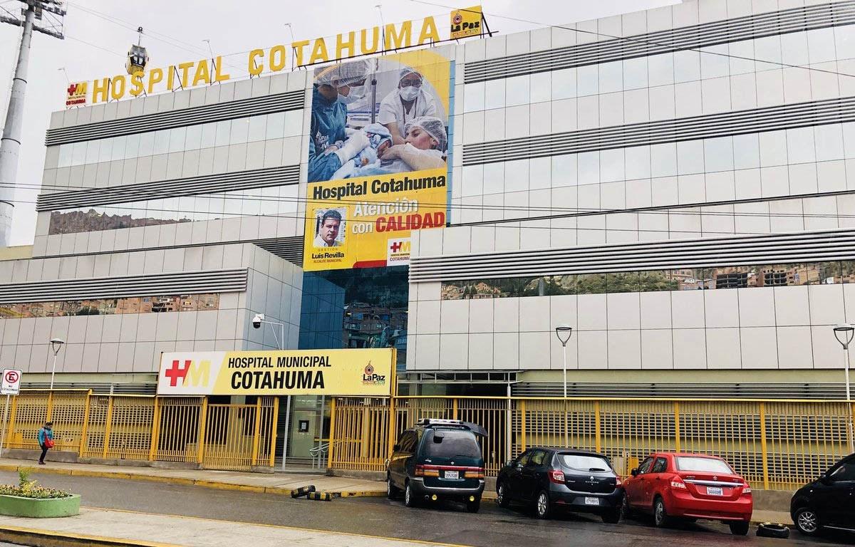Alcaldía habilitará el hospital de Cotahuma para el tratamiento de pacientes de COVID-19