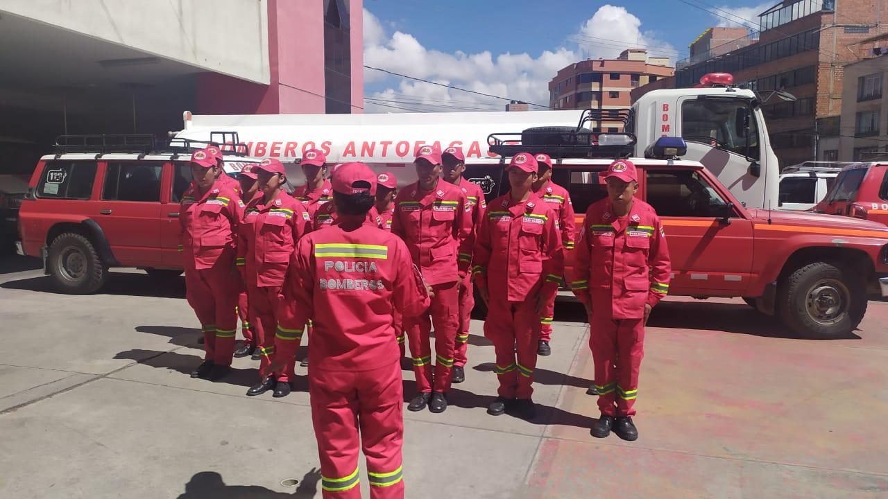 Bomberos realizarán controles para evitar que se realicen fogatas y juegos pirotécnicos durante San Juan