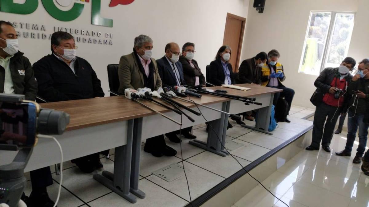 COED anuncia el encapsulamiento de La Paz durante 3 días por aumento de casos
