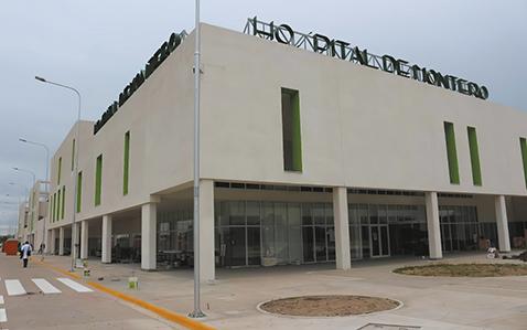 Cámara de Diputados posterga la entrega del hospital de Montero