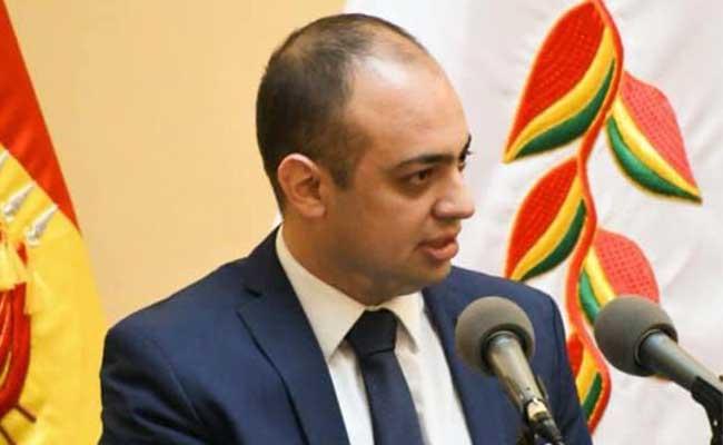 Embajador Mostajo asegura que se trasladó a Estados Unidos por la donación de respiradores para el país