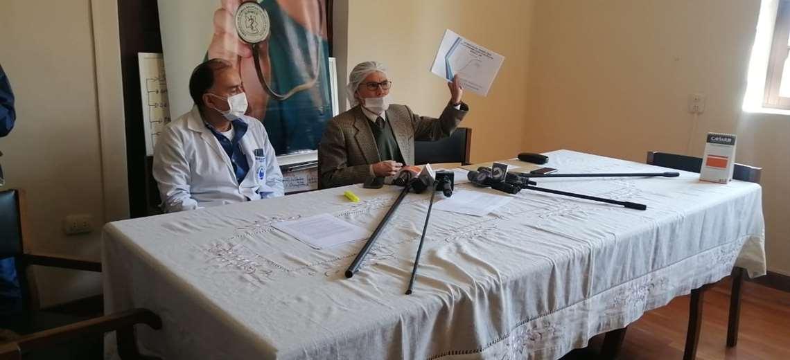 Médicos de Cochabamba amenazan con repliegue total ante falta de condiciones para afrontar el COVID-19