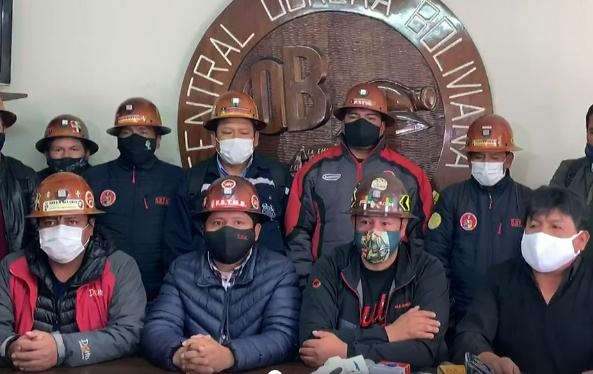 Mineros afines al MAS amenazan con tomar medidas si Añez no promulga la ley de elecciones