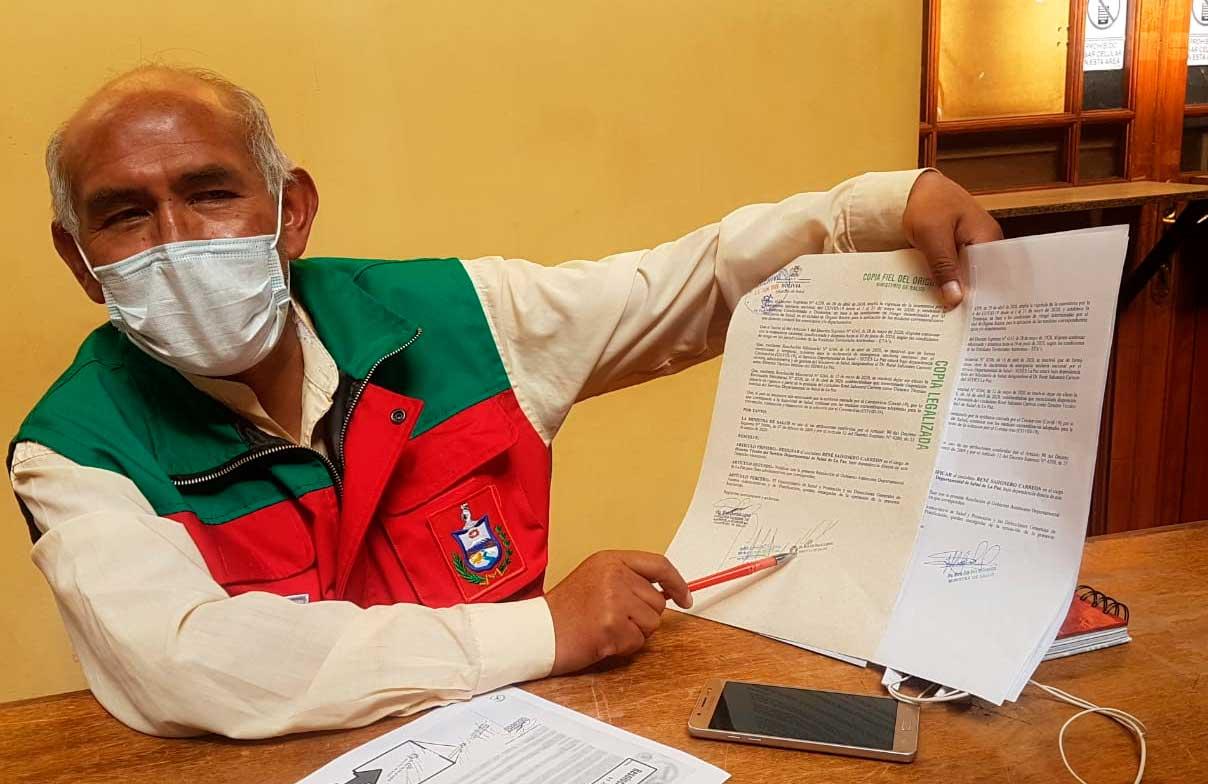 Ministerio de Salud niega supuesta de falsificación de firma de la ministra Roca