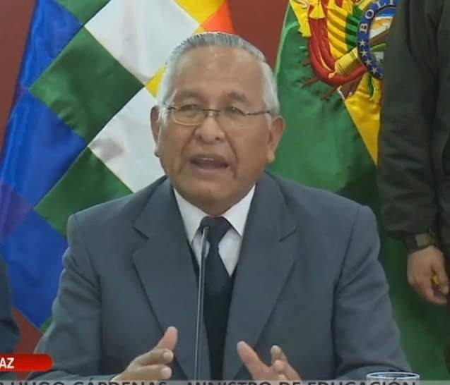 Ministro Cárdenas confirma que los descuentos de pensiones serán aplicados desde el inicio hasta el final de la cuarentena
