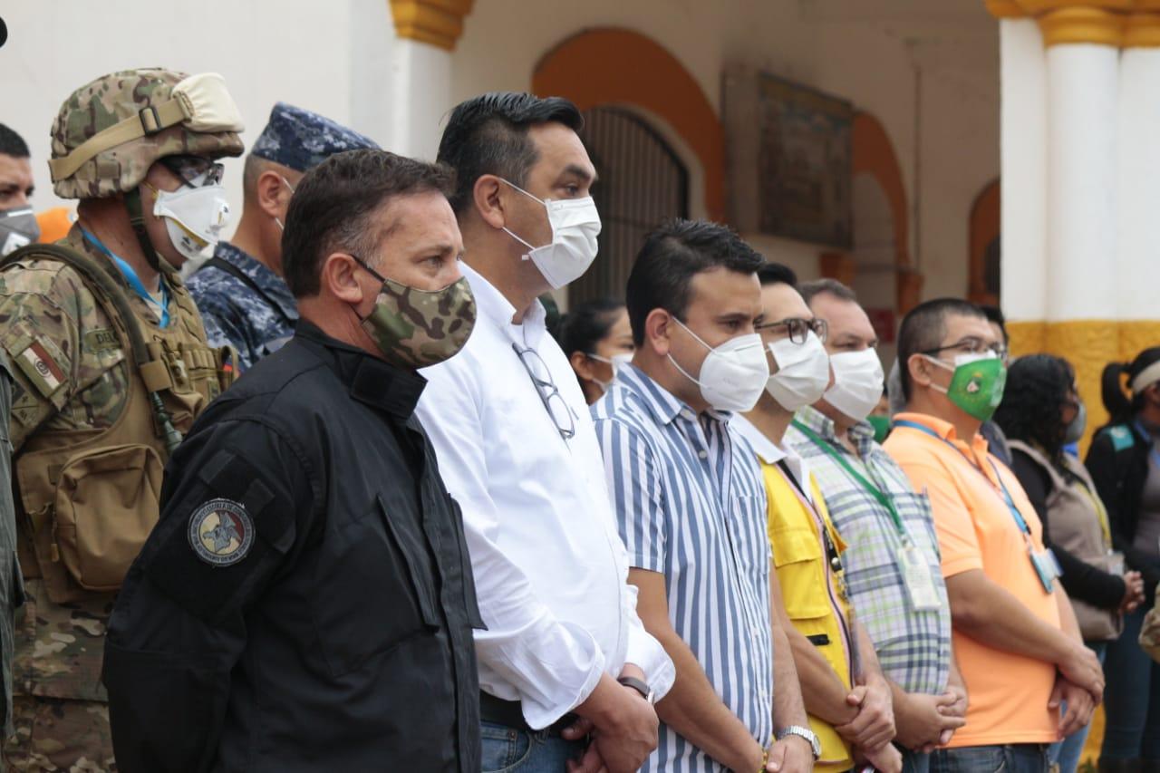 Ministro López anuncia que durante 5 días se realizará el rastrillaje en Trinidad