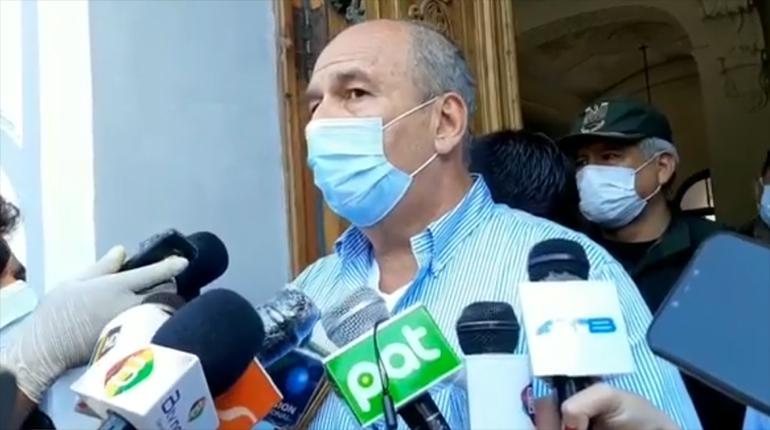 Murillo anuncia la entrega de respiradores para Cochabamba
