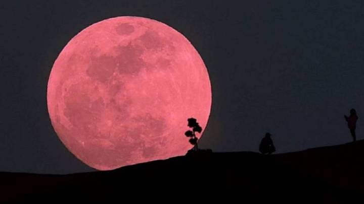 """NASA registra eclipse penumbral de """"luna de fresa"""""""
