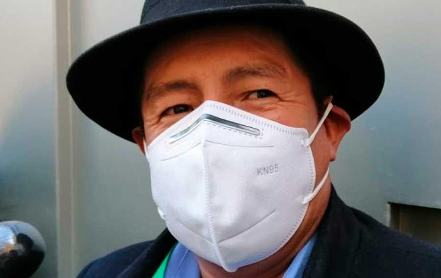 Rafael Quispe da positivo en prueba de coronavirus