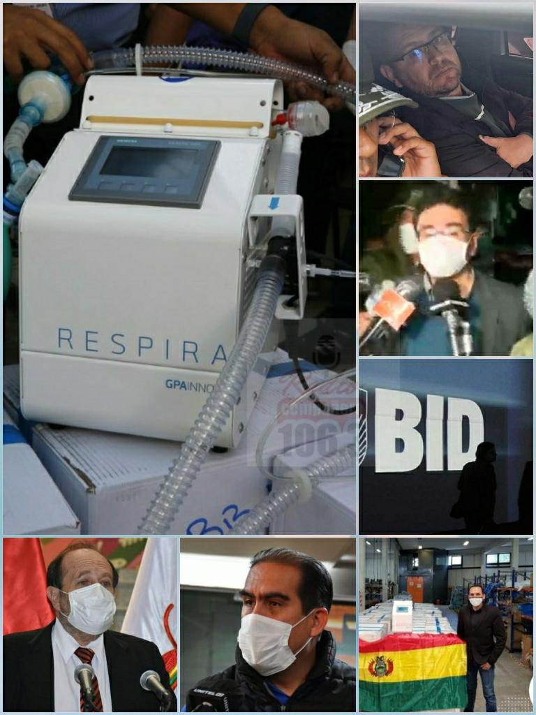 Representante de empresa intermediaria es convocado a declarar por el caso de respiradores españoles