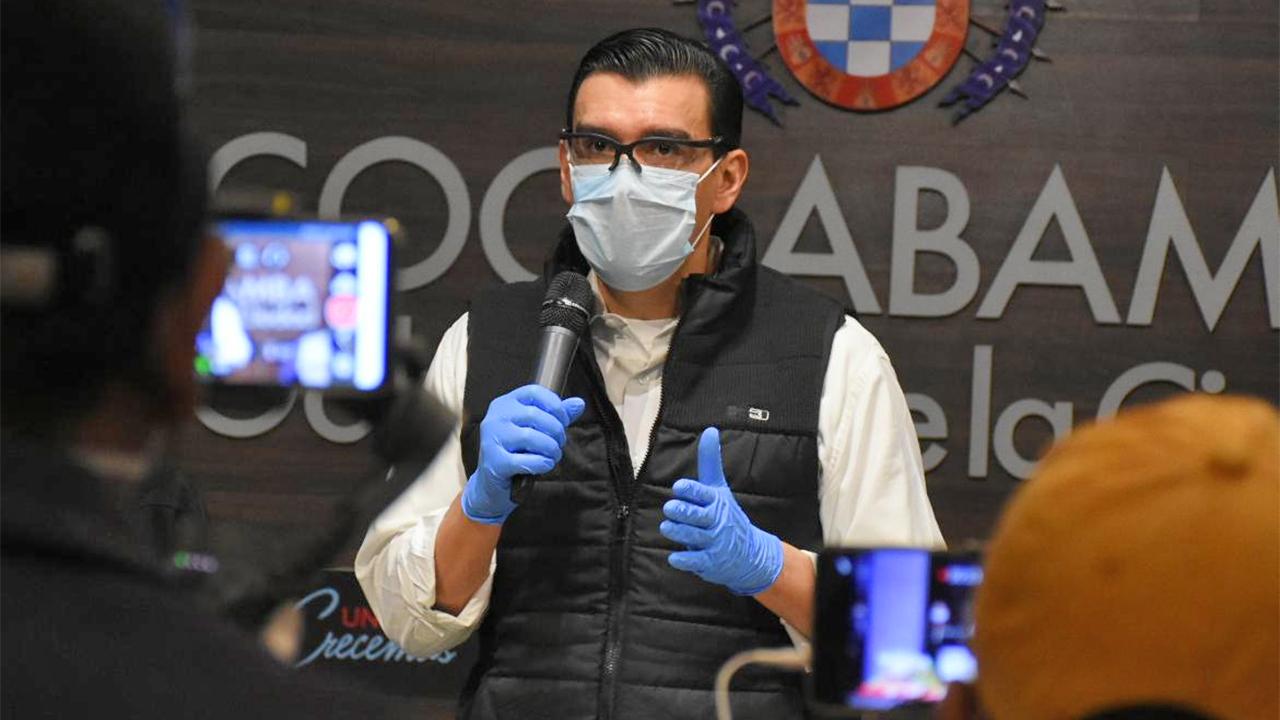 Alcalde de Cochabamba da positivo a coronavirus y asegura que continuará trabajando a distancia