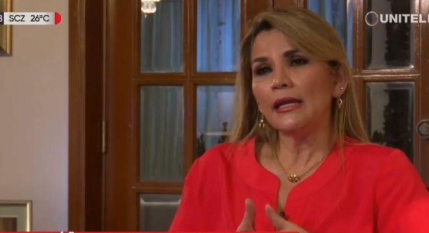 """Añez propone el """"Bono Salud"""" de Bs 500 que tendrá que ser aprobado por la ALP"""