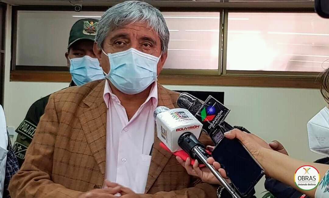 Arias anuncia la adquisición de 200.000 pruebas rápidas para La Paz