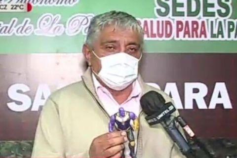 Arias propone a gobernadora de Cochabamba visitar hospitales para que confirme la existencia del COVID-19