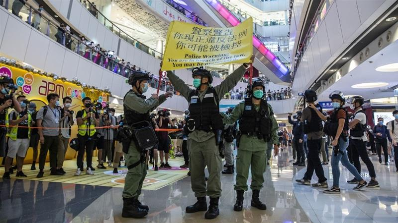 """China advierte con tomar medidas contra Australia por su """"injerencia"""" en asuntos con Hong Kong"""