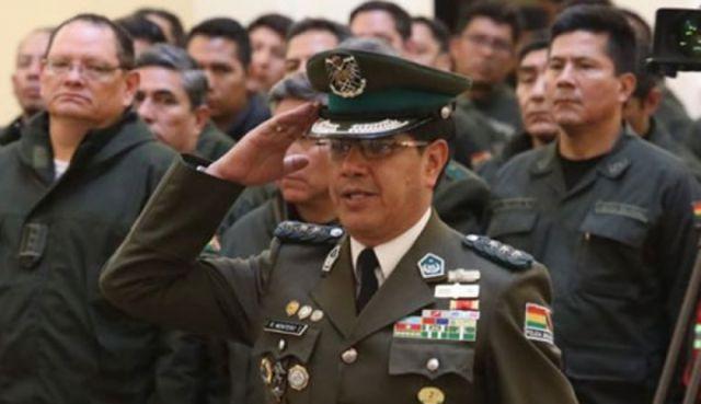 Comandante General de la Policía da positivo a coronavirus