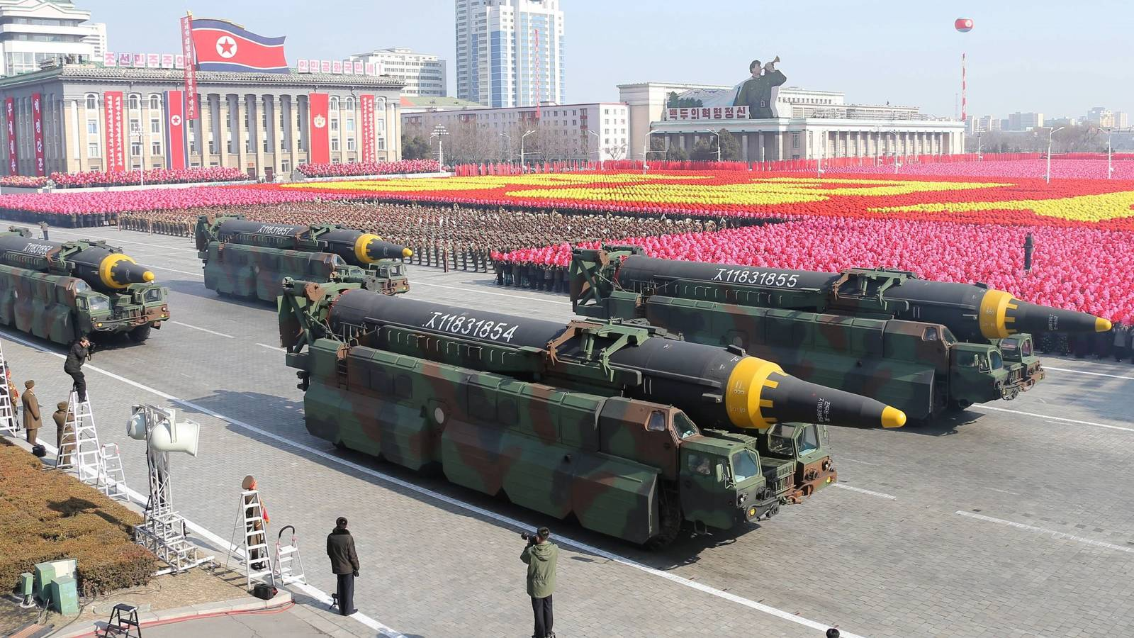 """Kim Jong-Un asegura que """"no habrá más guerras"""" debido a las armas nucleares de Corea del Norte"""