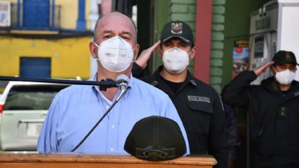 Murillo advierte a alcalde de Cochabamba que podría ir preso por incumplimiento de deberes