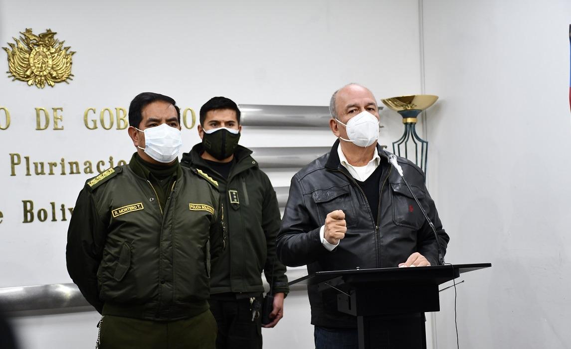 Murillo anuncia seguro de vida para los efectivos policiales