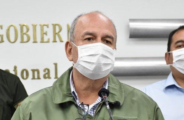Murillo informa de la incineración de 329 kilos de droga en Trinidad