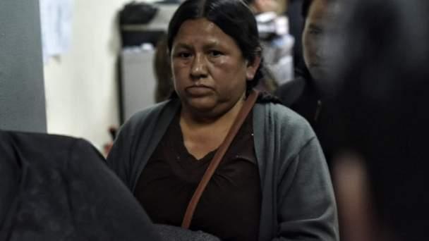 Nemesia Achacollo sale de la cárcel tras obtener detención domiciliaria
