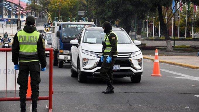 Policía solicita volver a la cuarentena rígida en La Paz ante el aumento de casos de COVID-19