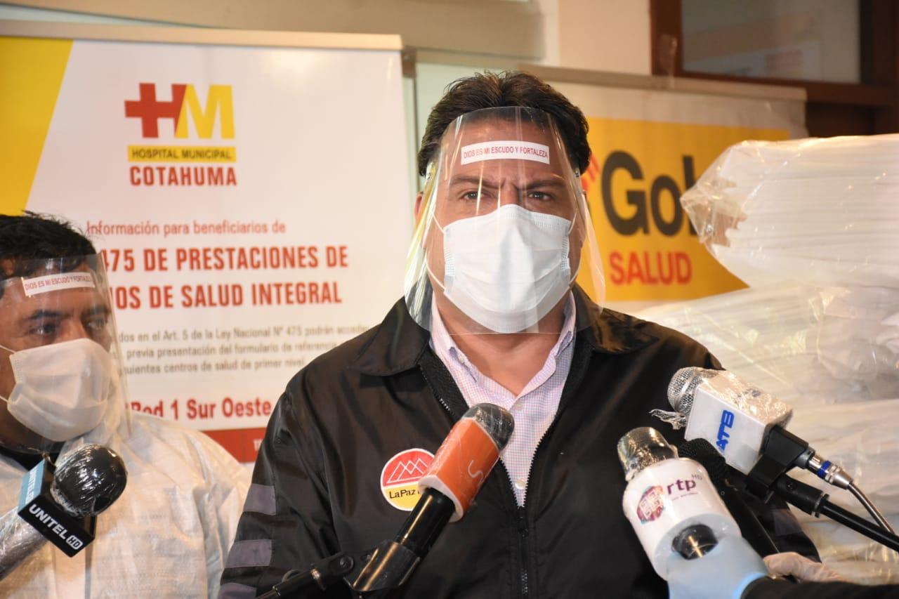 Revilla ratifica que La Paz entrará en aislamiento total del 16 al 19 de julio
