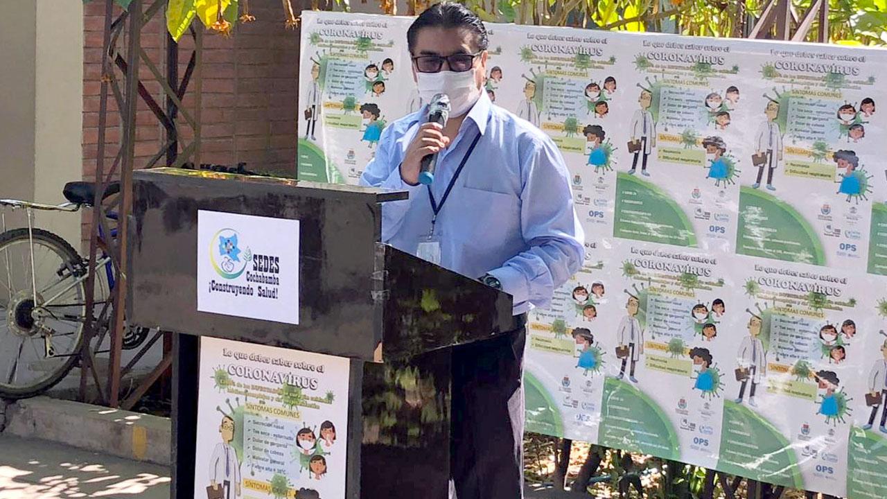 """SEDES de Cochabamba explica que no puede recomendar el dióxido de cloro porque sería """"lo mismo que prescribir lavandina"""""""