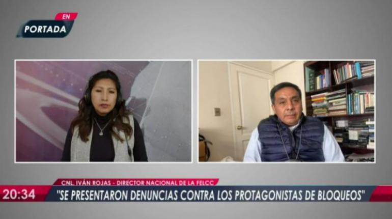 FELCC identificó a protagonistas de los bloqueos tras denuncias