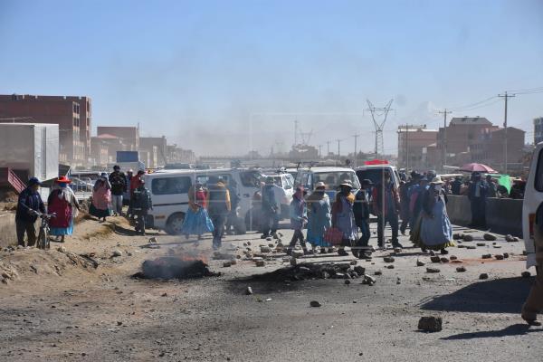 Issa prevé nuevas medidas en zonas donde fracasó los intentos de diálogo entre el Gobierno y los bloqueadores