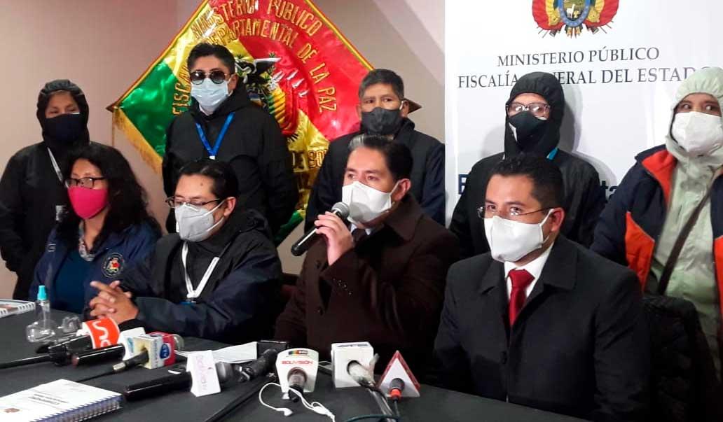 Ministerio Público admite denuncia contra Huarachi y Morales