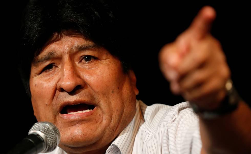 Morales pide a dirigentes a considerar el Acta de Entendimiento que fija los comicios para el 18 de octubre