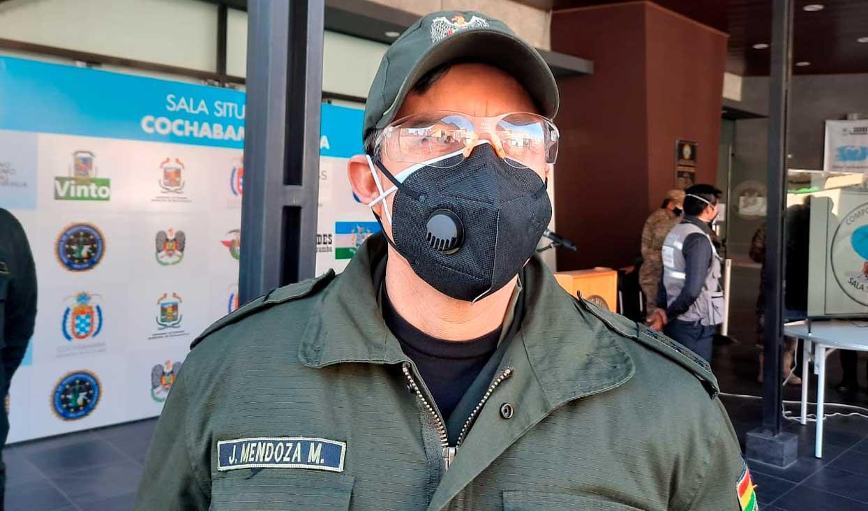 Policía de Cochabamba registra bloqueos en las carreteras hacia el oriente, occidente y Valle Alto