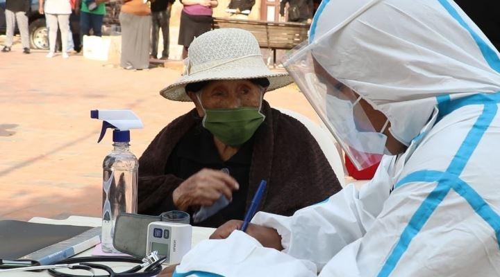 Registran 103.019 casos de coronavirus en el país